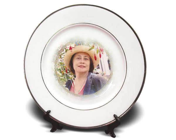 Фотопечать на тарелках фото